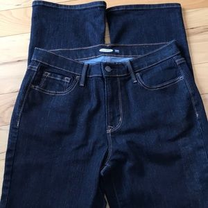 Old Navy dark blue tall jeans